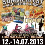 Plakat Sommerfest 2013