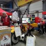 Messestand Motortrend Halle 2014