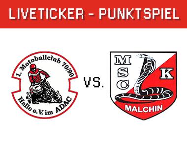 1. MBC 70/90 Halle vs. Kobra Malchin