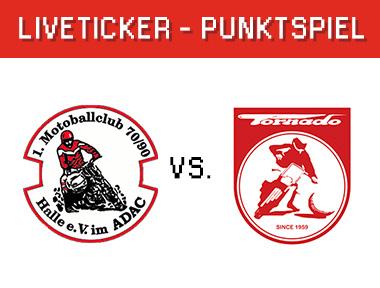 1. MBC 70/90 Halle vs. Tornado Kierspe
