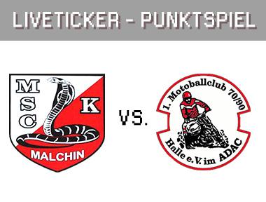 Kobra Malchin vs. 1. MBC 70/90 Halle