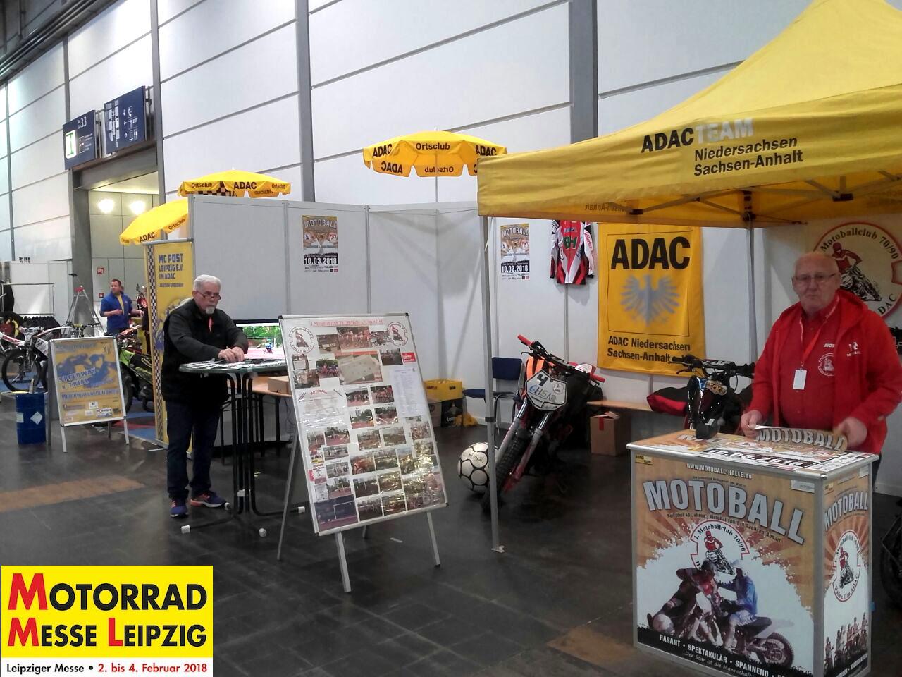 Motorrad Messe Leipzig 2018