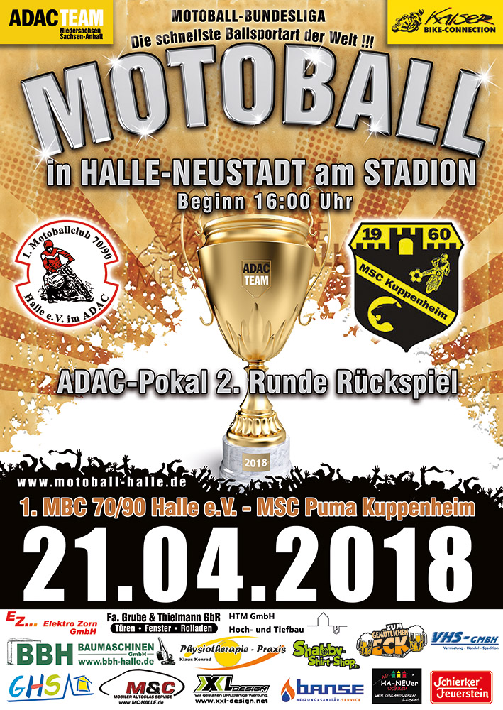 Deutscher Meister in Halle