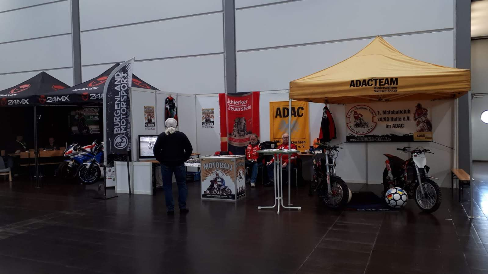 Motorradmesse Leipzig 2019