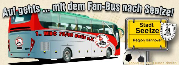 Auf geht´s .... FAN-Bus nach Seelze
