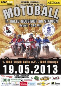 Plakat zum 3.Heimspiel 2013