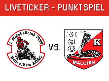 Halle vs. Malchin