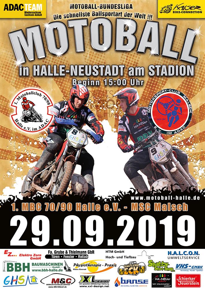 Siegreiche Motoballer